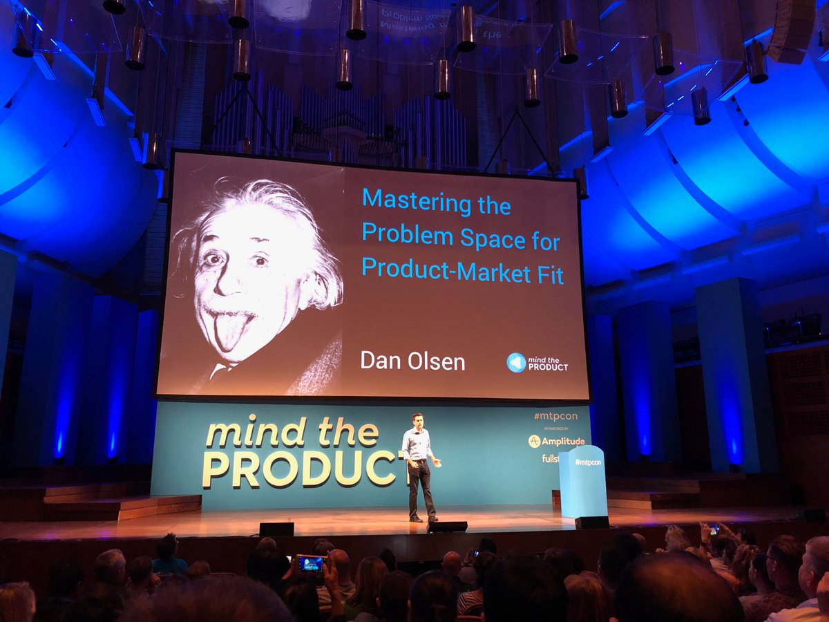 Dan Olsen at Mind The Product San Francisco